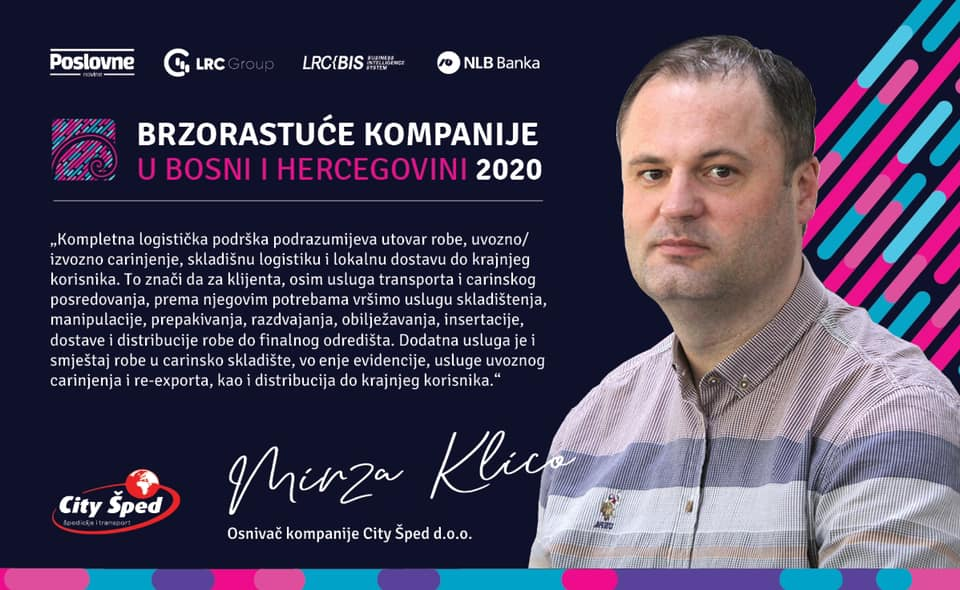 Fast-growing companies in Bosnia and Herzegovina 2020